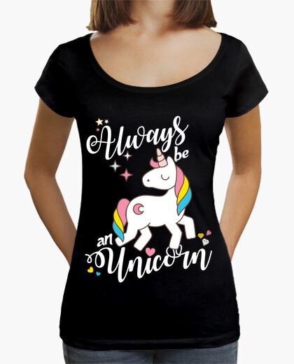 Tee-shirt toujours une licorne