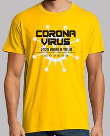 tour du monde du virus corona