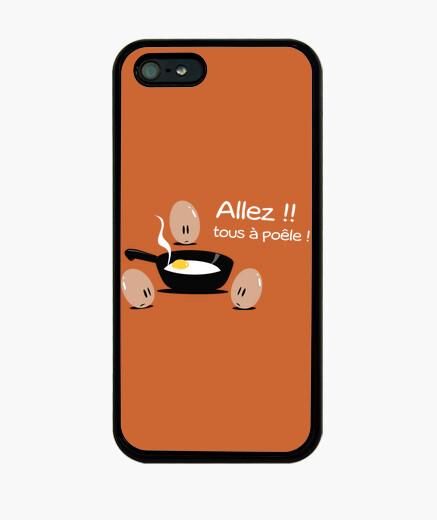 Tous à la poêle - Coque iPhone