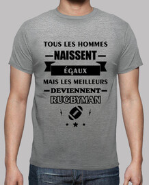 Tous les hommes rugbyman rugby
