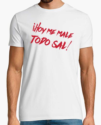 Tee-shirt tout  homme  de sel