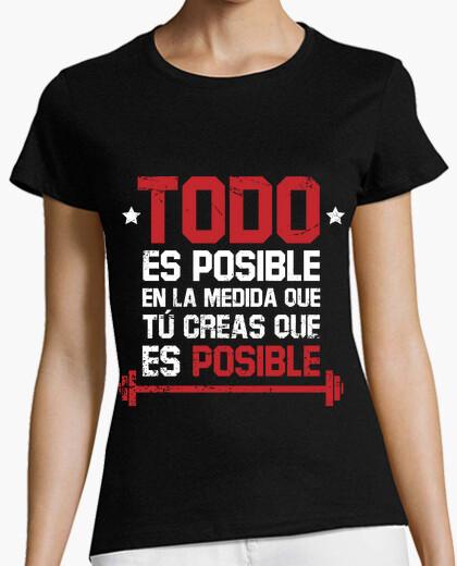 Tee-shirt tout est possible (femme)