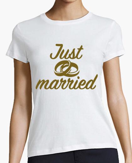 Tee-shirt tout juste marié