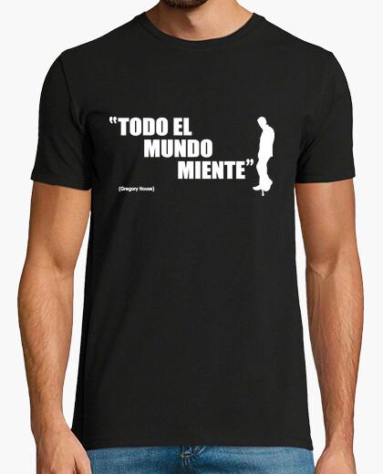 Tee-shirt Tout le monde ment - House
