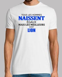 touts les hommes lion