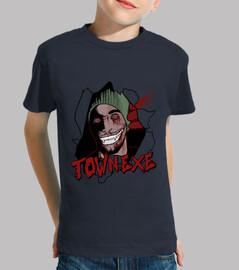 town.exe children / as short sleeve