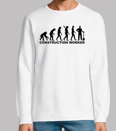 trabajador de la construcción de la evo