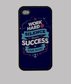 trabajo duro iphone 4