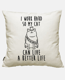 trabajo para mi gato