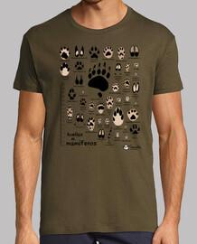 tracce di mammiferi iberici scientifici