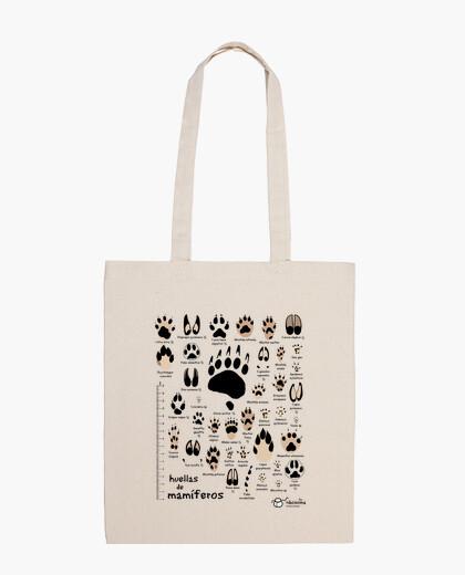 Traces of iberian mammal scientist bag