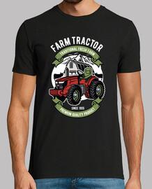 tracteur rétro chemise de ferme rétro 1955