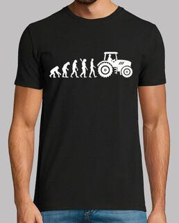 tractor de evolución