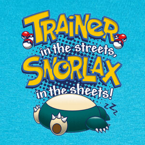 Trainer in the streets... T-shirts