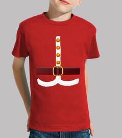 Traje Papa Noel - Camiseta Navideña