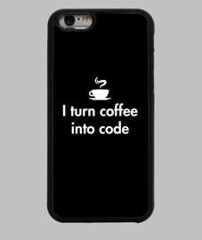 transformo el café en código