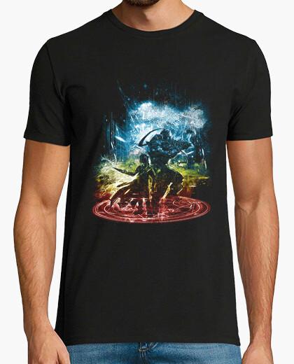 Camiseta transmutación versión de la tormenta-arco iris