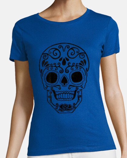 transparent sugar skull