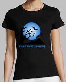 transylvanie station de vacances t-shirt ( femme )