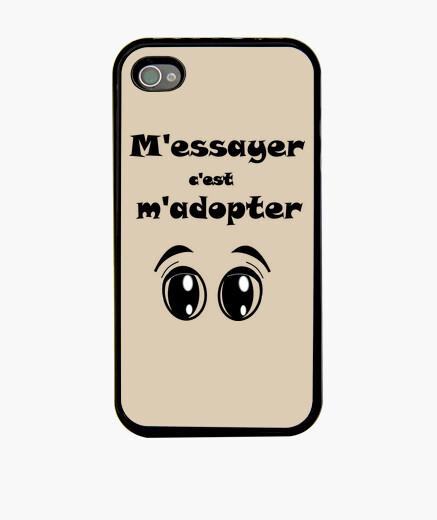 Funda iPhone tratar ... adoptar cáscara fb