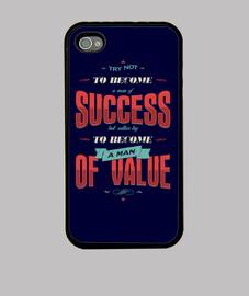 tratar de no convertirse en un hombre de éxito iphone 4