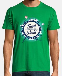 Travel Around The World - Camiseta H