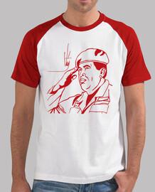 Trazos rojo. Comandante Hugo Chávez
