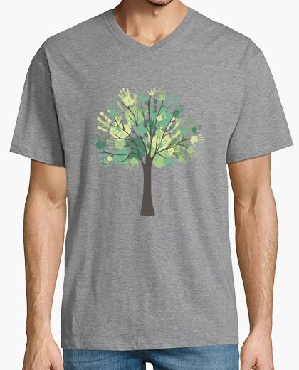 Camiseta Tree hands