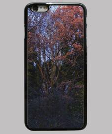 Trees Funda iPhone 6 Plus, negra