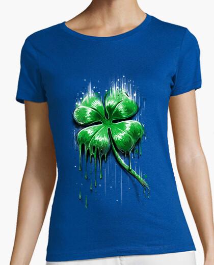 Camiseta Trèfle à Quatre Feuille