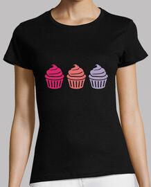 tres cupcakes