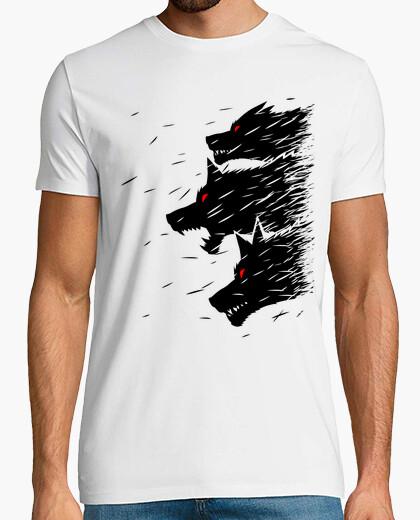Camiseta Tres lobos