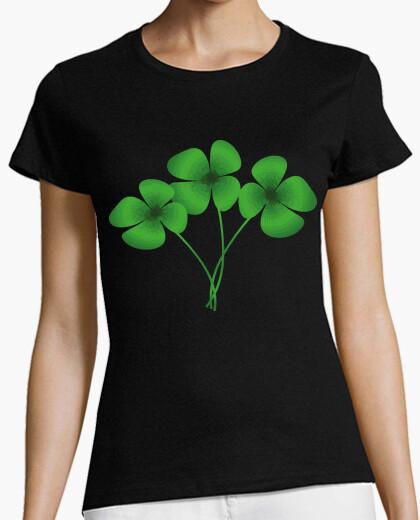 Camiseta Tres Treboles de Cuatro Hojas