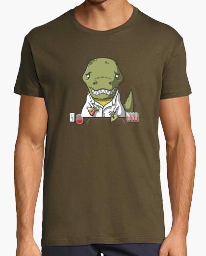Tee-shirt trex scientifique