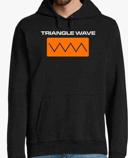 Triangle wave hoody