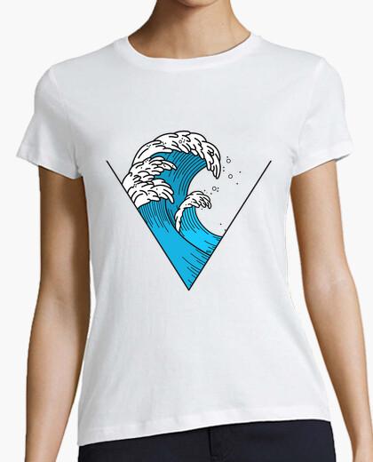 T-shirt triangolo d39onda
