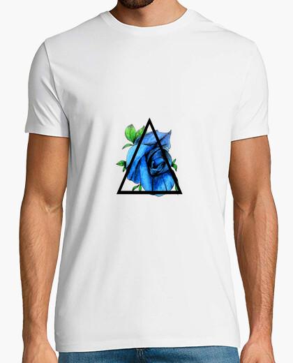 Camiseta Triangular Rose - Rosa Triangular