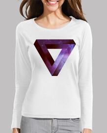 Triangulo Infinito de Penrose - Violeta Down