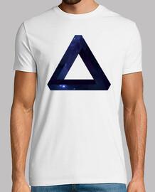 Triangulo Infinito espacio y estrellas