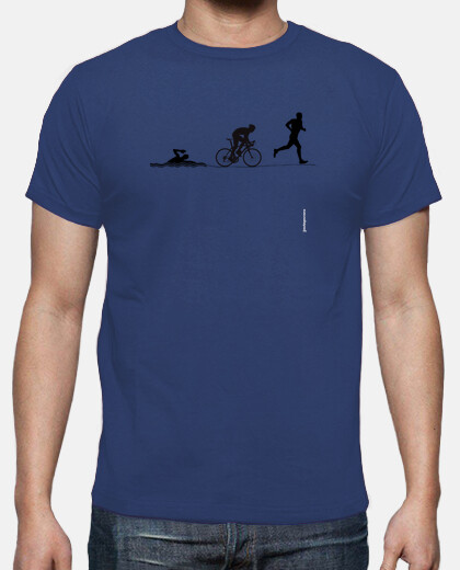 Camiseta Triathlon negro