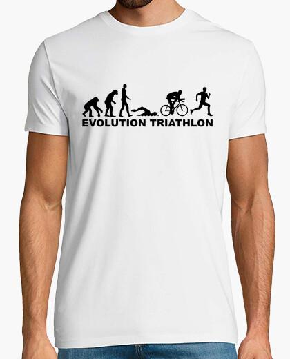 Camiseta triatlón evolución