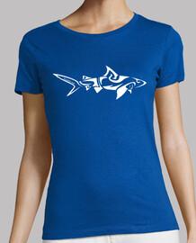 tribal shark woman