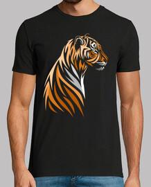 Tribal tigre perfil