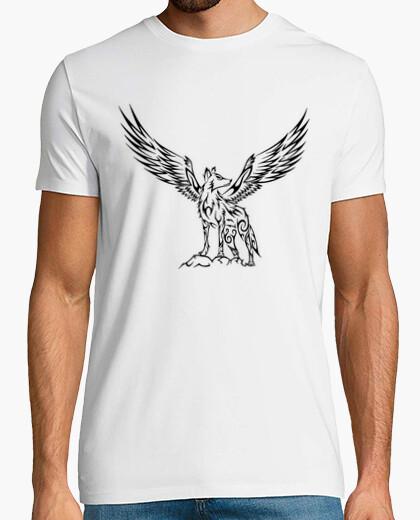 Camiseta Tribal Wolf