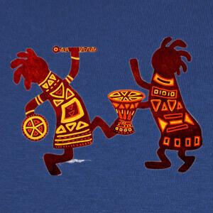 Camisetas Tribal Zgz Drum Fest