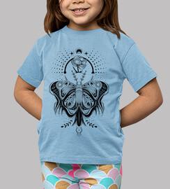 tribale tatuaggio farfalla - light t-shirt