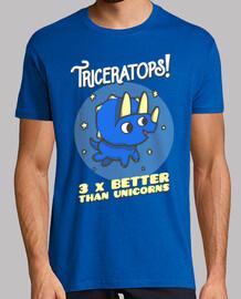 triceratops 3 fois mieux que les licornes
