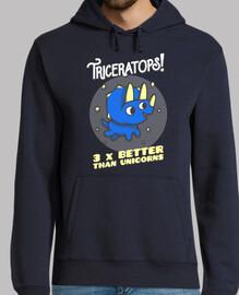triceratops 3 fois mieux que licornes