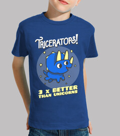 triceratops 3 times better than unicorns