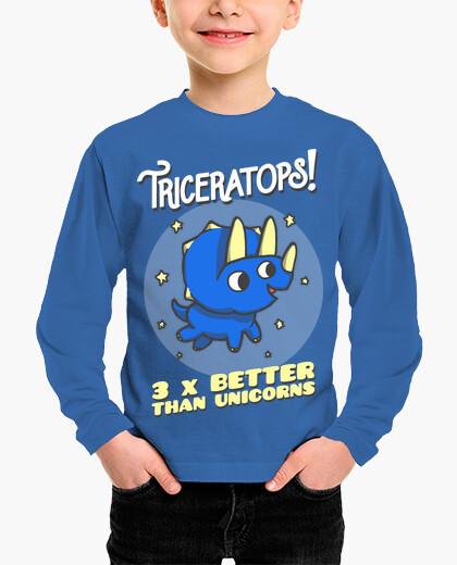Ropa infantil triceratops 3 veces mejor que los unico